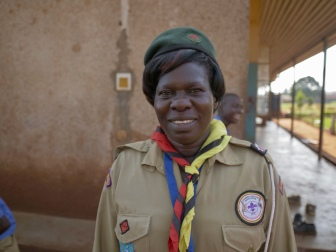 Teacher and scout leader at Kiira Primary School